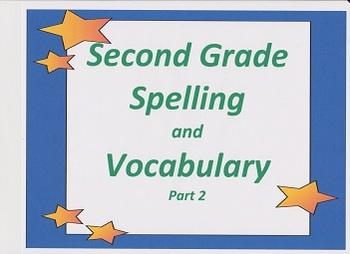 Houghton Mifflin:  Reading - Spelling:  Second Grade Part 2