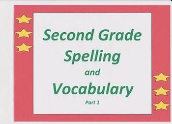 Houghton Mifflin: Reading - Spelling:  Second Grade Part 1