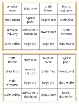 Connecticut Bingo