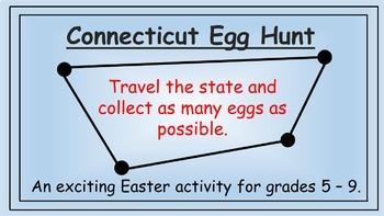 Connecticut Easter Math Activity
