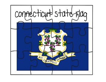 Connecticut Flag Puzzle