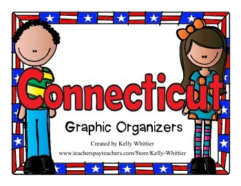 Connecticut Graphic Organizers (Perfect for KWL charts and