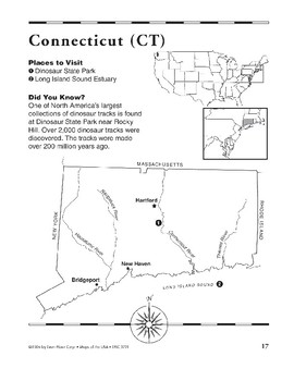 Connecticut (Map & Facts)