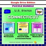 Connecticut Puzzle BUNDLE - Word Search & Crossword Puzzle - U.S States - Google