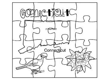 Connecticut Puzzle Set