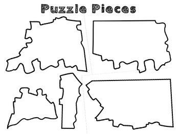Connecticut Regions cut and paste activity