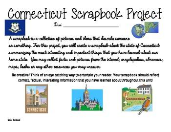 Connecticut Scrapbook Project