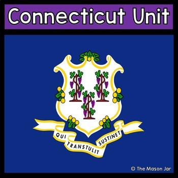 Connecticut Social Studies Unit (No Prep)
