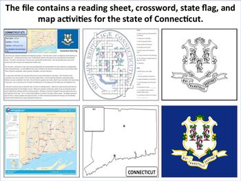 Connecticut - State Activity Set