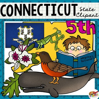 Connecticut State Clip Art