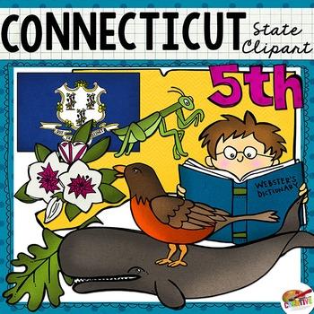 Connecticut State Clip Art
