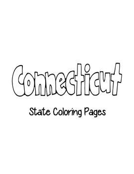 Connecticut State Coloring Pages