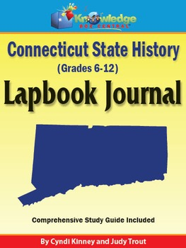 Connecticut State History Lapbook Journal