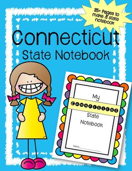 Connecticut  State Notebook. US History and Geography