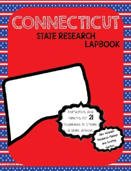 Connecticut State Research Lapbook Interactive Project