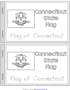 Connecticut State Symbols Notebook