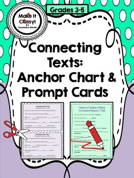 Connecting Across Texts- Thinking Prompt Cards