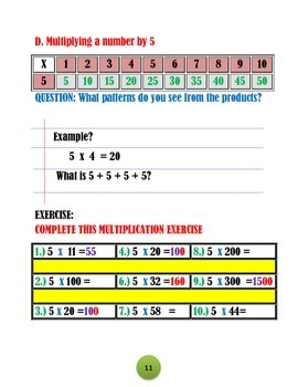 CONNECTING ADDITION WITH MULTIPLICATION