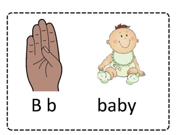 Connecting American Sign Language to Writing - Bundle