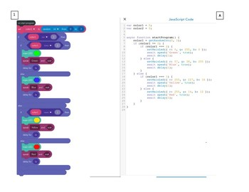 From Block-based to Text-Based Coding - Making the