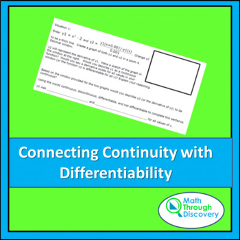 Connecting Continuity with Differentiability