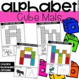 Connecting Cube Alphabet Letter Mats - Fine Motor Fun!
