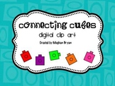 Connecting Cube {Clipart}