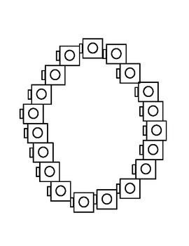 Connecting Cubes Numbers 0-4