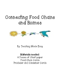 Connecting Food Chains and Biomes