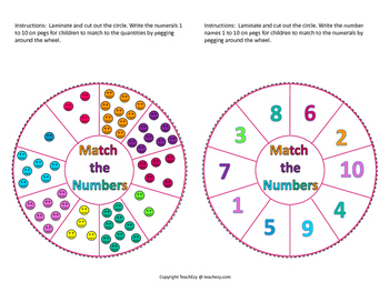 Connecting Numerals, Names and Quantities
