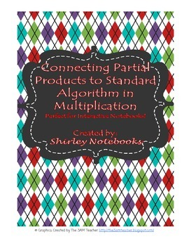 Connecting Partial Products to Standard Algorithm Interactive Notebook