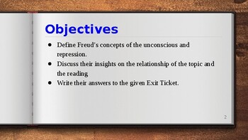 Connecting Psychoanalysis to Literature PPT
