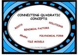 Connecting Quadratic Concepts
