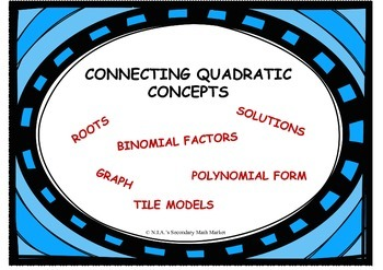 Connecting Quadratic Concepts