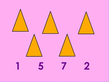 Connecting numeral to quantities 0-10