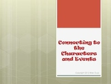 Connecting to Characters and Events