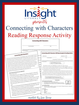 Connecting with Characters Reading Response Assignment