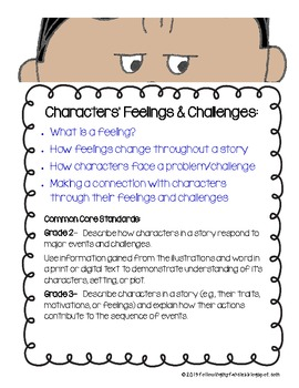 Connecting with How Characters Feel and Face Challenges