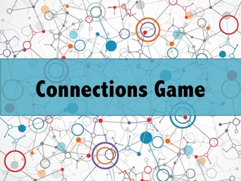 Connection Game/Assessment Bundle