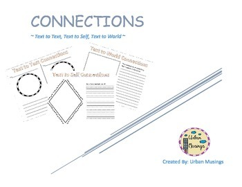 Connection Graphic Organizers