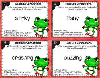 Connection Task Cards