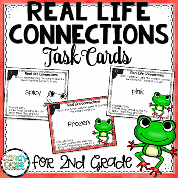 Connection Task Cards- L.2.5.A