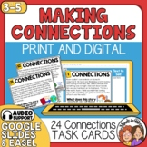 Making Connections Task Cards Text to Self  Text to Text  Text to World