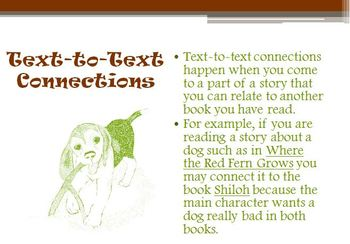 Text to Text Self and World Connections Bundle
