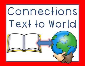 Connections: Text to Text, Text to Self, Text to World