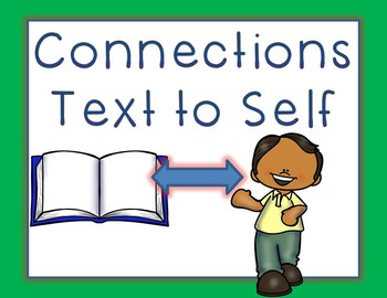 Text to Text, Text to Self, Text to World Connections!