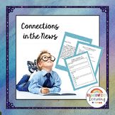 Connections in the News: Writing an Opinion Letter to the Editor