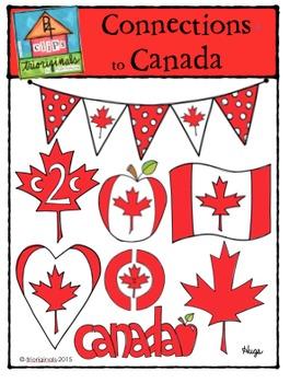 Connections to Canada {P4 Clips Trioriginals Digital Clip Art}