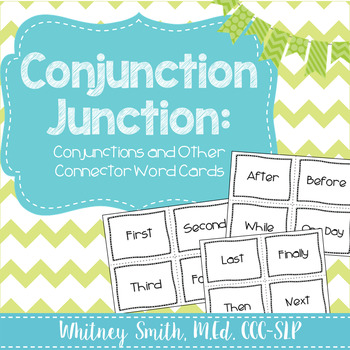 Connector and Transition Words for Writing and Story Retell