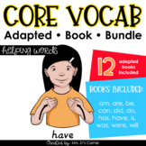 Helping Words Core Vocabulary Adapted Book Bundle [Level 1
